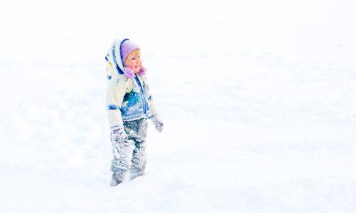 babák hidegben